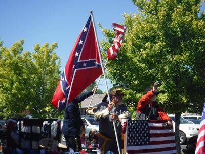 fourth parade confederate flag
