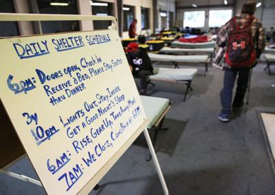 Oregon's low-barrier shelters can offer entry into services
