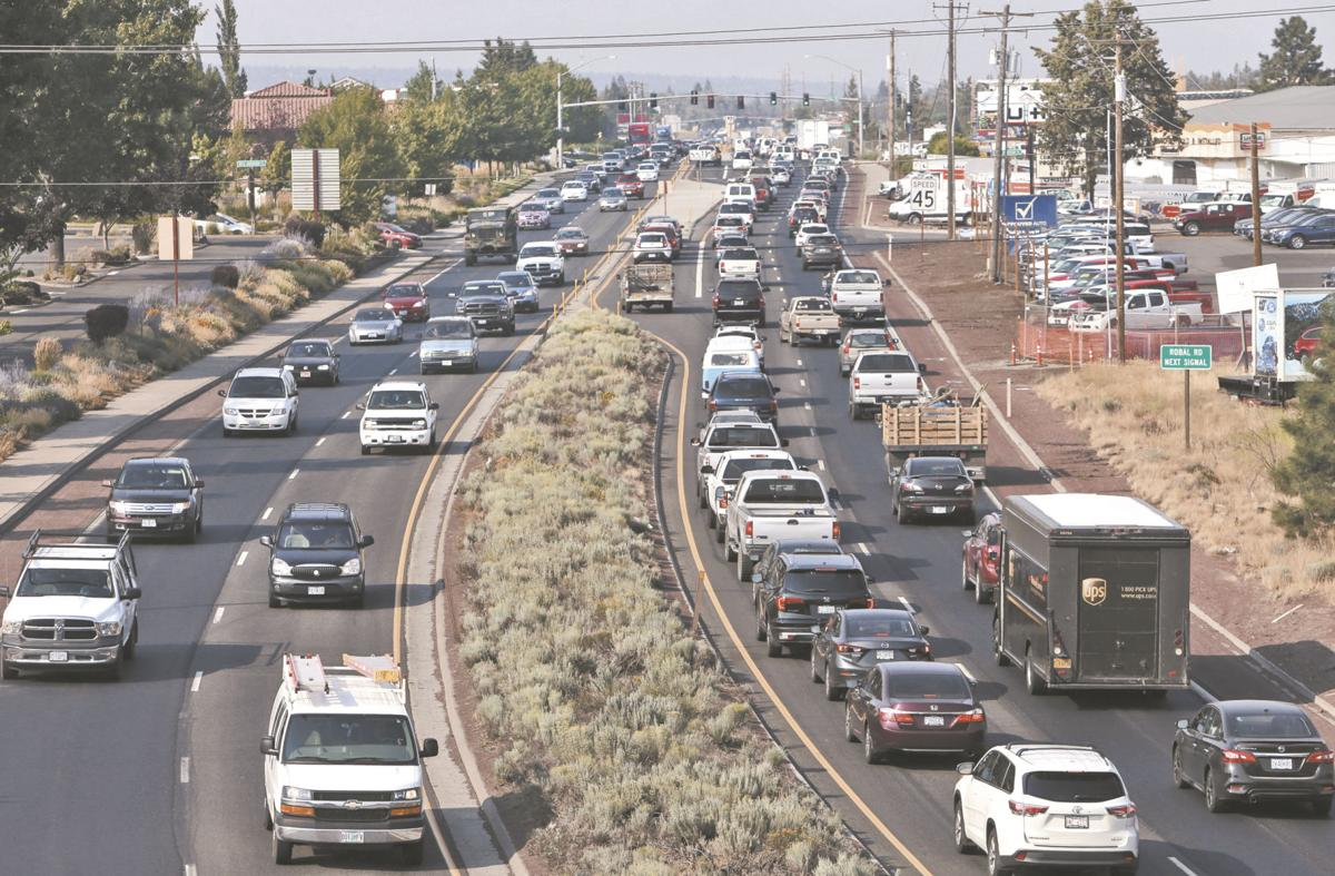 Eclipse traffic already backing up in Central Oregon
