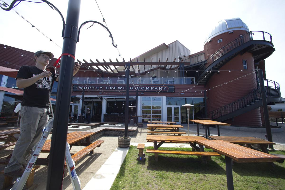 Worthy's Hopservatory connects beer and space