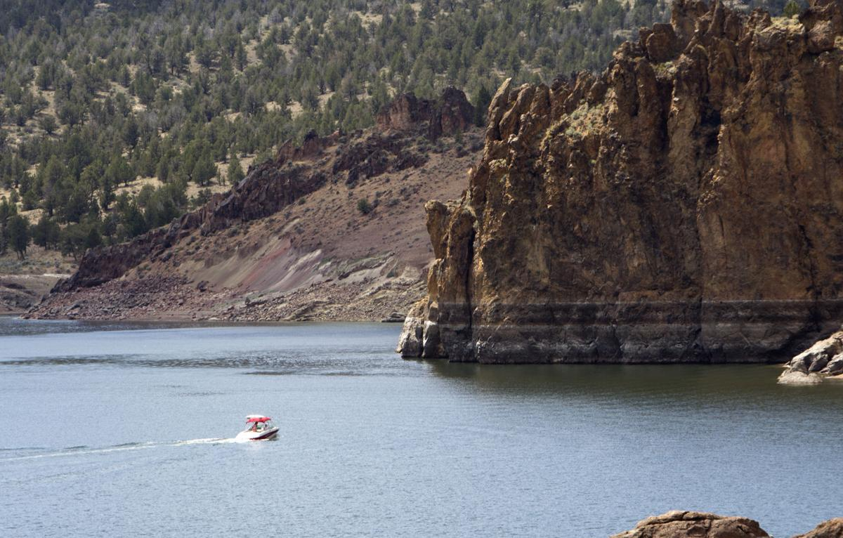 Low water levels close boat ramp at Prineville Reservoir (copy)