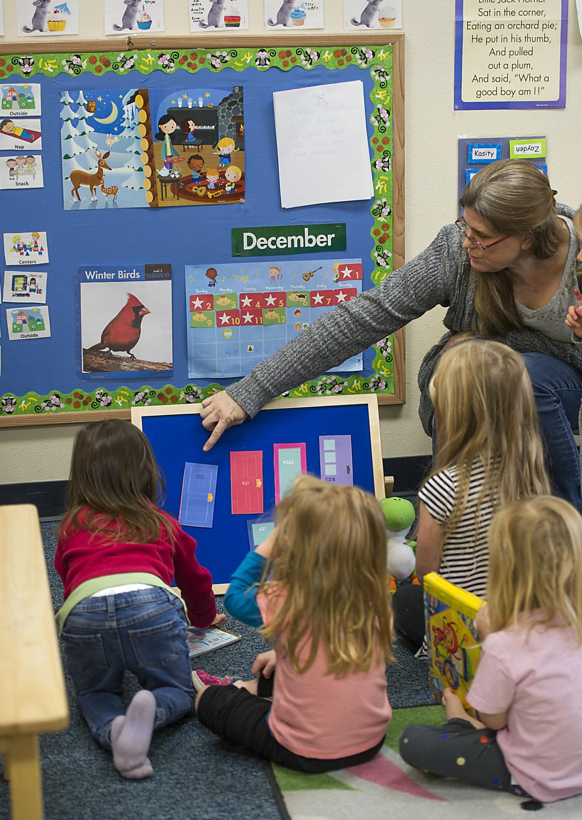COCC students lobby for on-campus child care