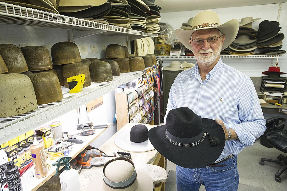 Sisters man makes custom hats