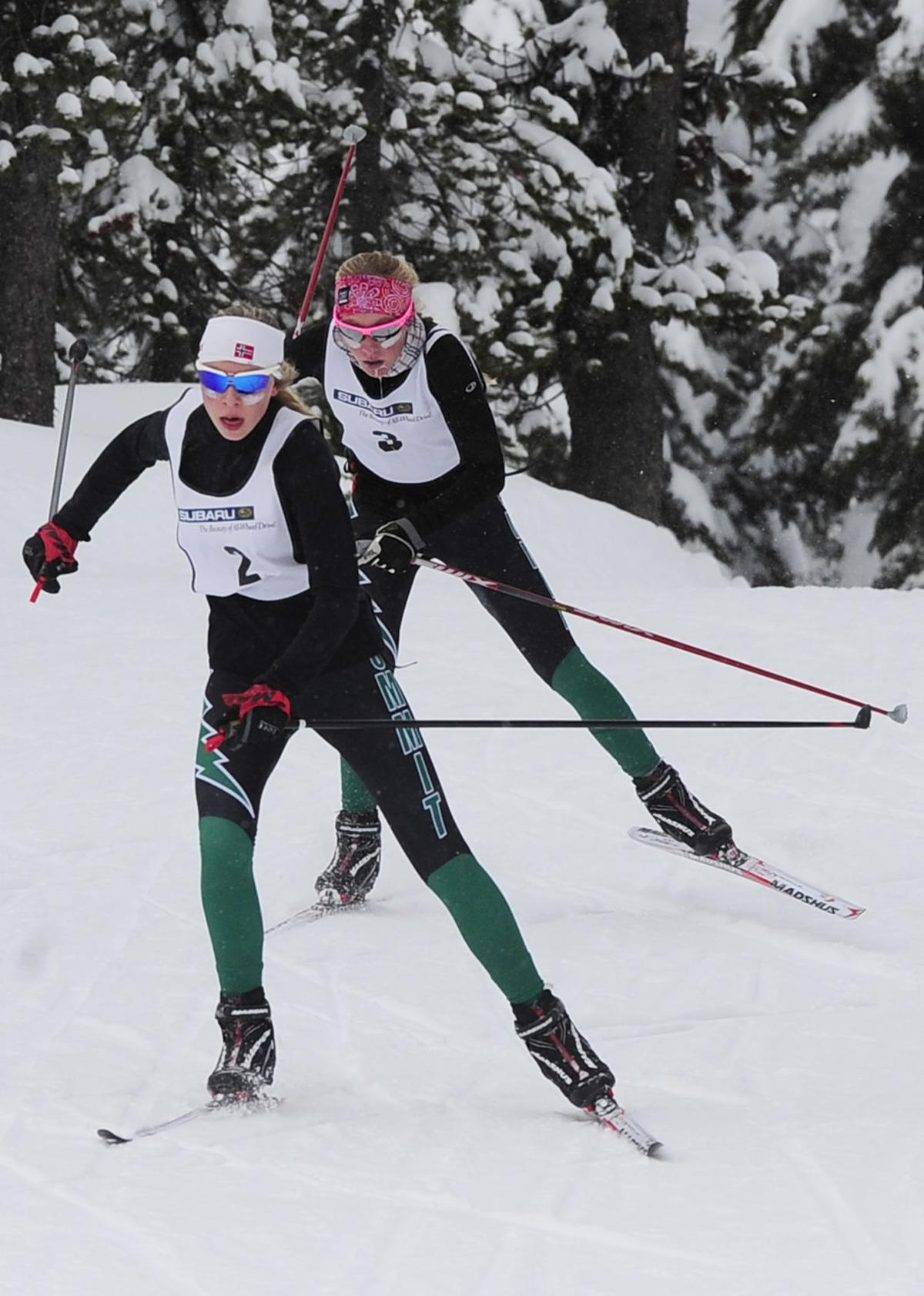 Storm nordic skiers aim for three straight