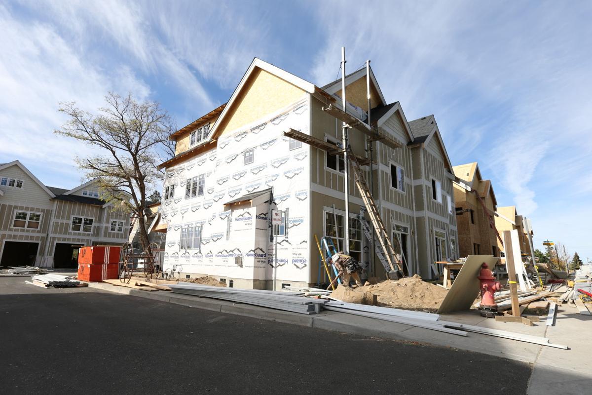 Reed Market row houses take shape