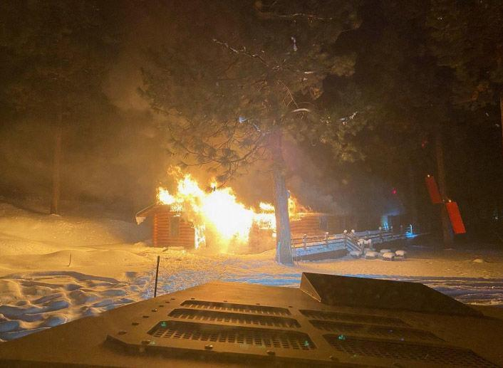 Chiloquin man arrested following shooting, house fire that closed Highway 97