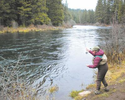 Fishing in Central Oregon
