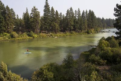 Deschutes River water