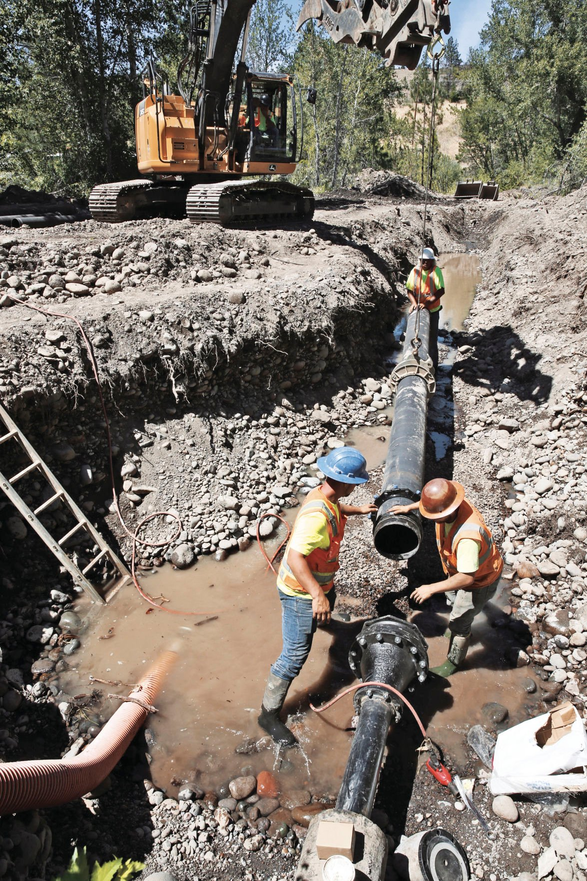 Warm Springs water pipe repaired, but boil water notice to continue