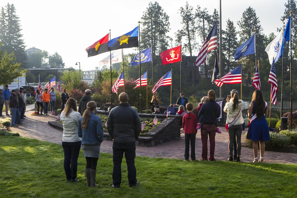 9/11 ceremony in Bend