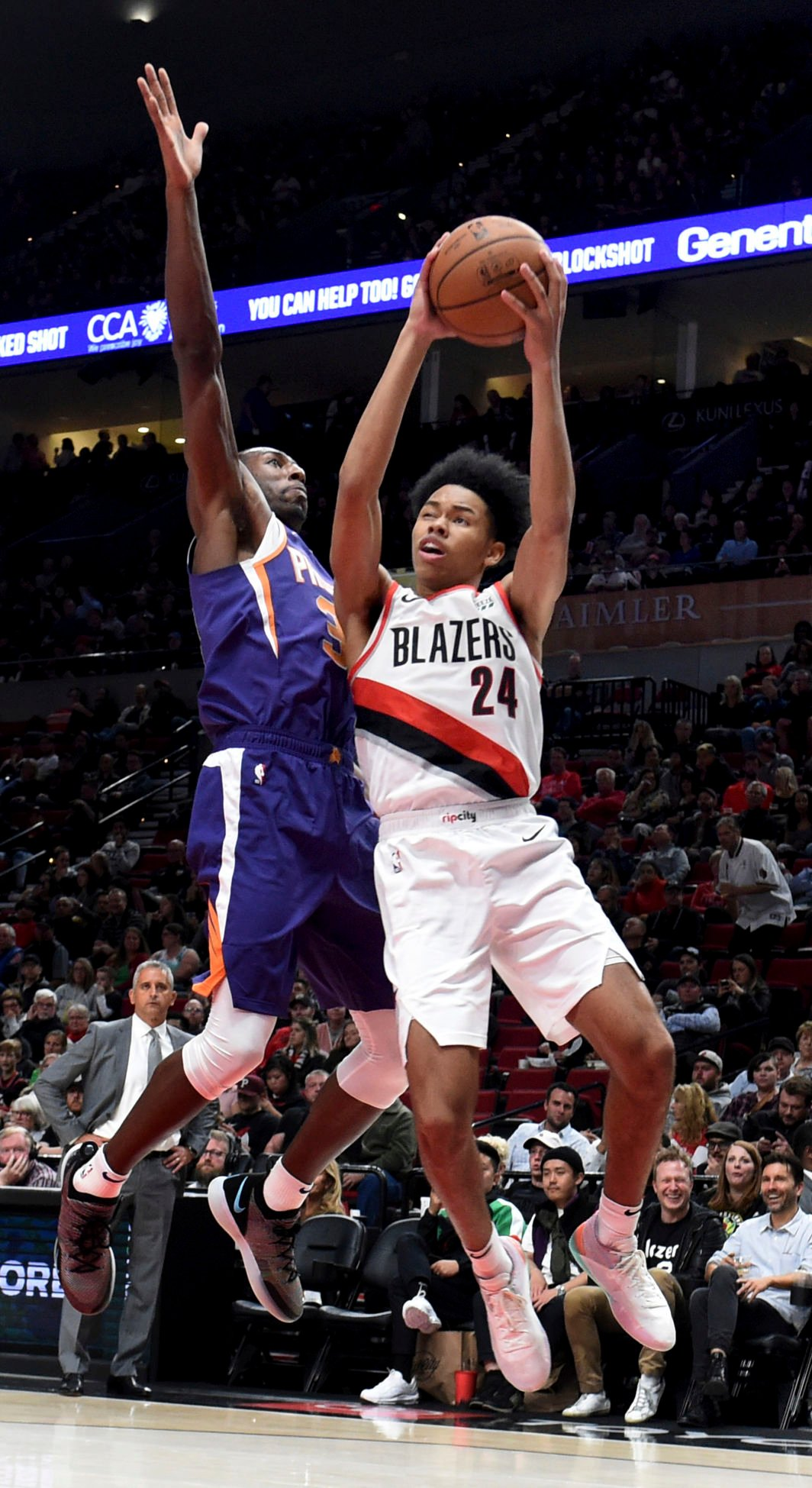Anfernee Simons pushing for Trail Blazers' rotation spot with solid summer league play