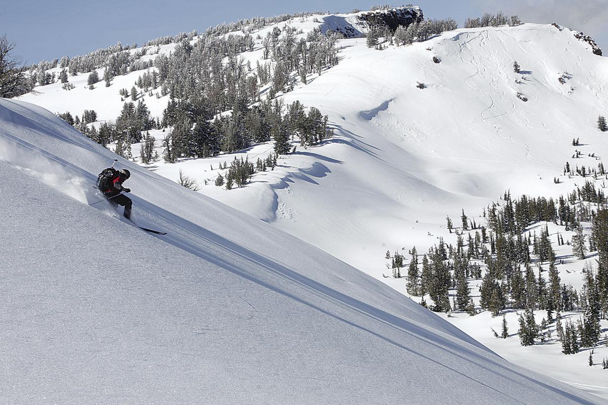 Backcountry skiing at Three Creek Sno-park (copy) (copy)