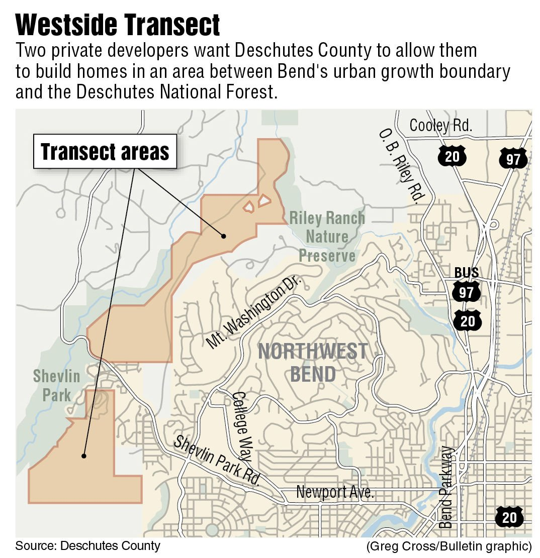 Deschutes County mulls zone to allow development between city and national forest