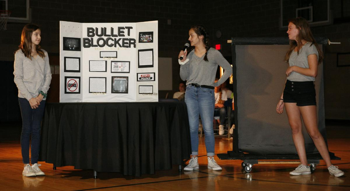 Middle schoolers present inventions to 'Shark Tank' panel