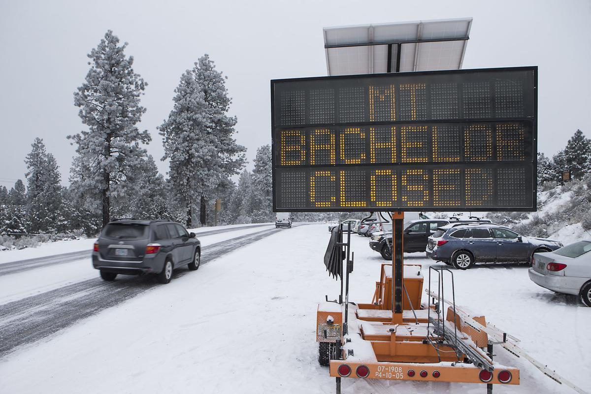 Mt. Bachelor Closed