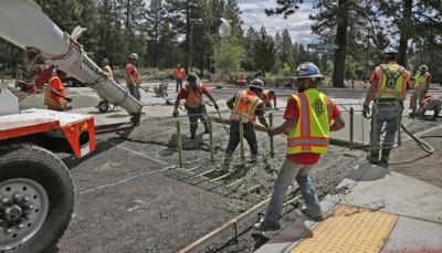 Roundabout at Shevlin Park Road, Mt. Washington should reopen next week