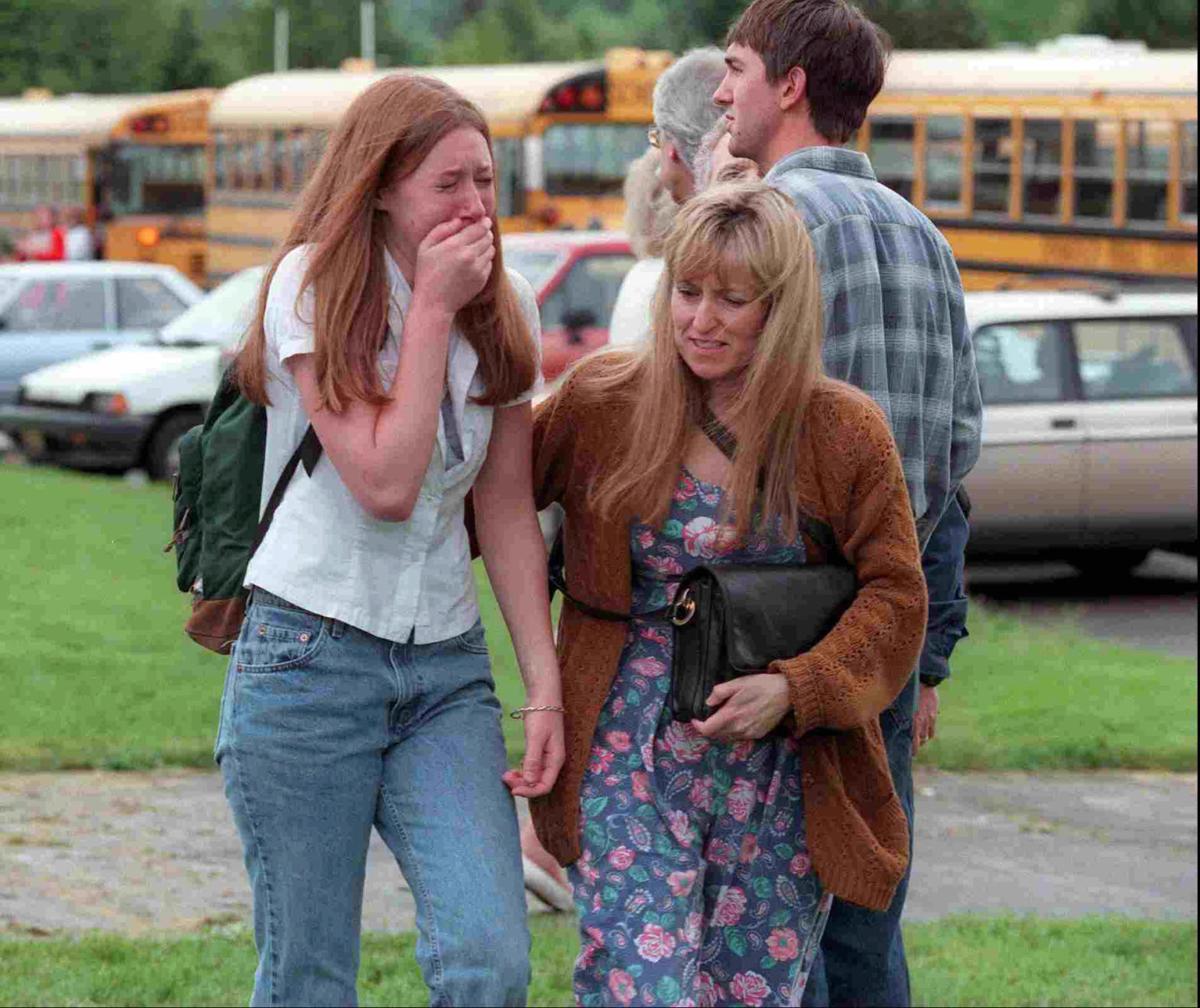 Hidden Wounds After A School Shooting Health Bendbulletin Com Kinkel's arrest on may 21, 1998 following the shooting at thurston high. hidden wounds after a school shooting