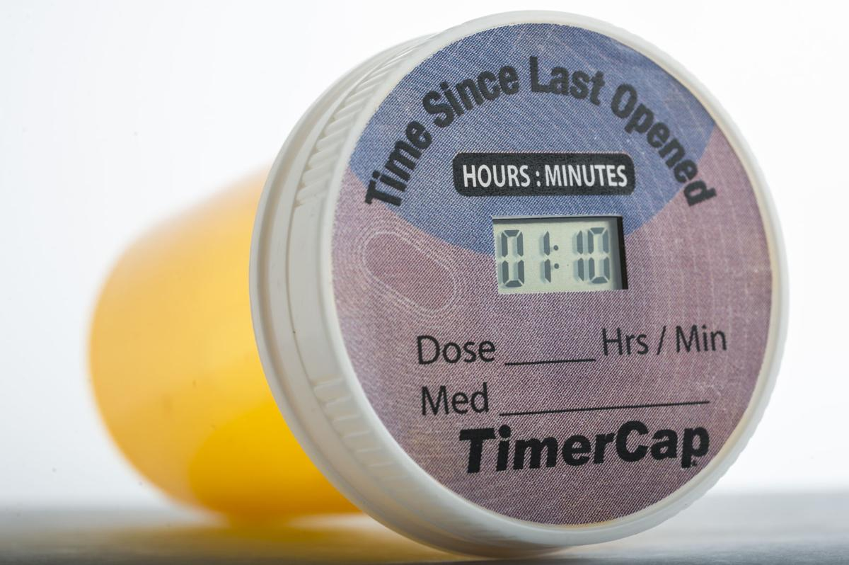 New pill bottle caps do more than keep kids out