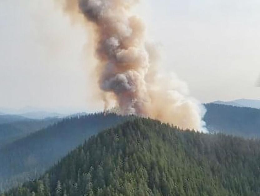 Lightning sparks new wave of wildfires in western Cascades