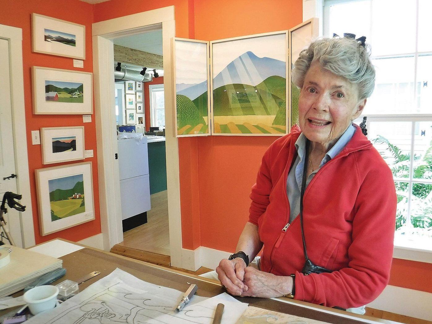 Sabra Field marks 50th year making Vermont art