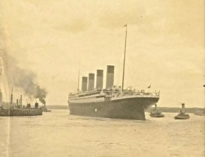 titanic southampton harbor