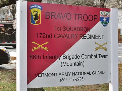 Guard unit sign