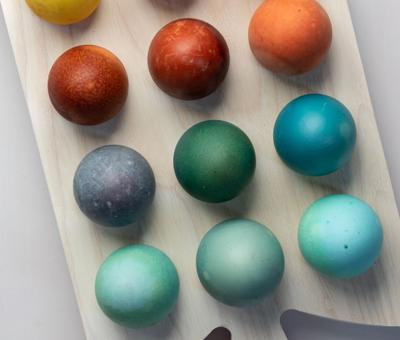 NATURAL DYED EGGS 5