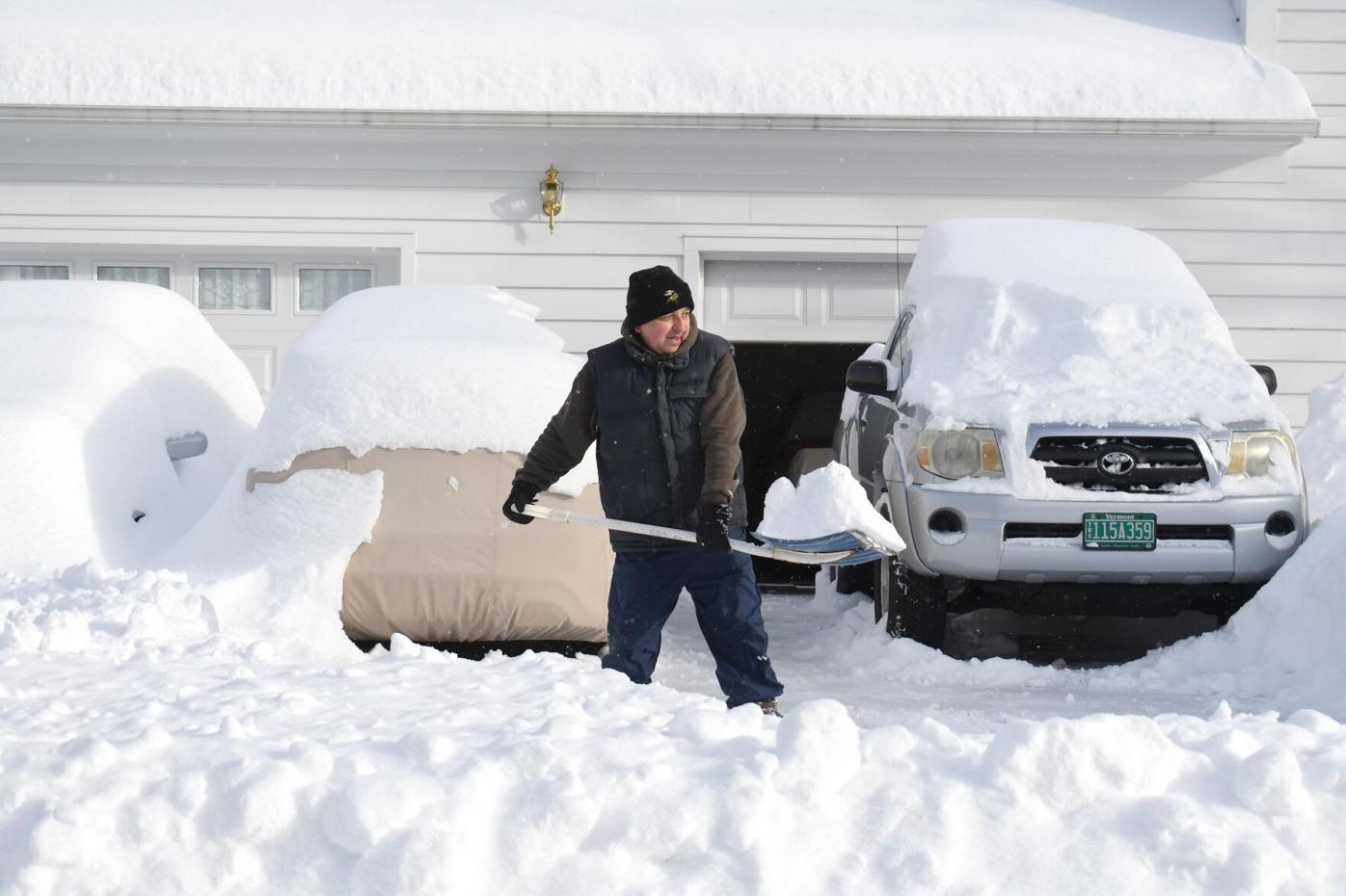 First Snowstorm of season