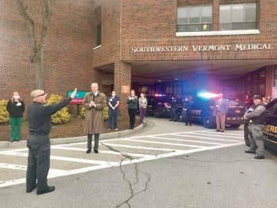 SVMC staff saluted by law enforcement