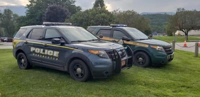 Manchester Police Department cruisers
