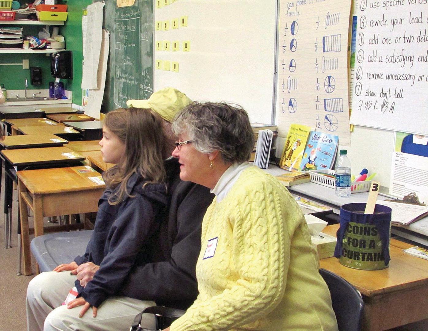 'Grandfriends' welcome at Village School