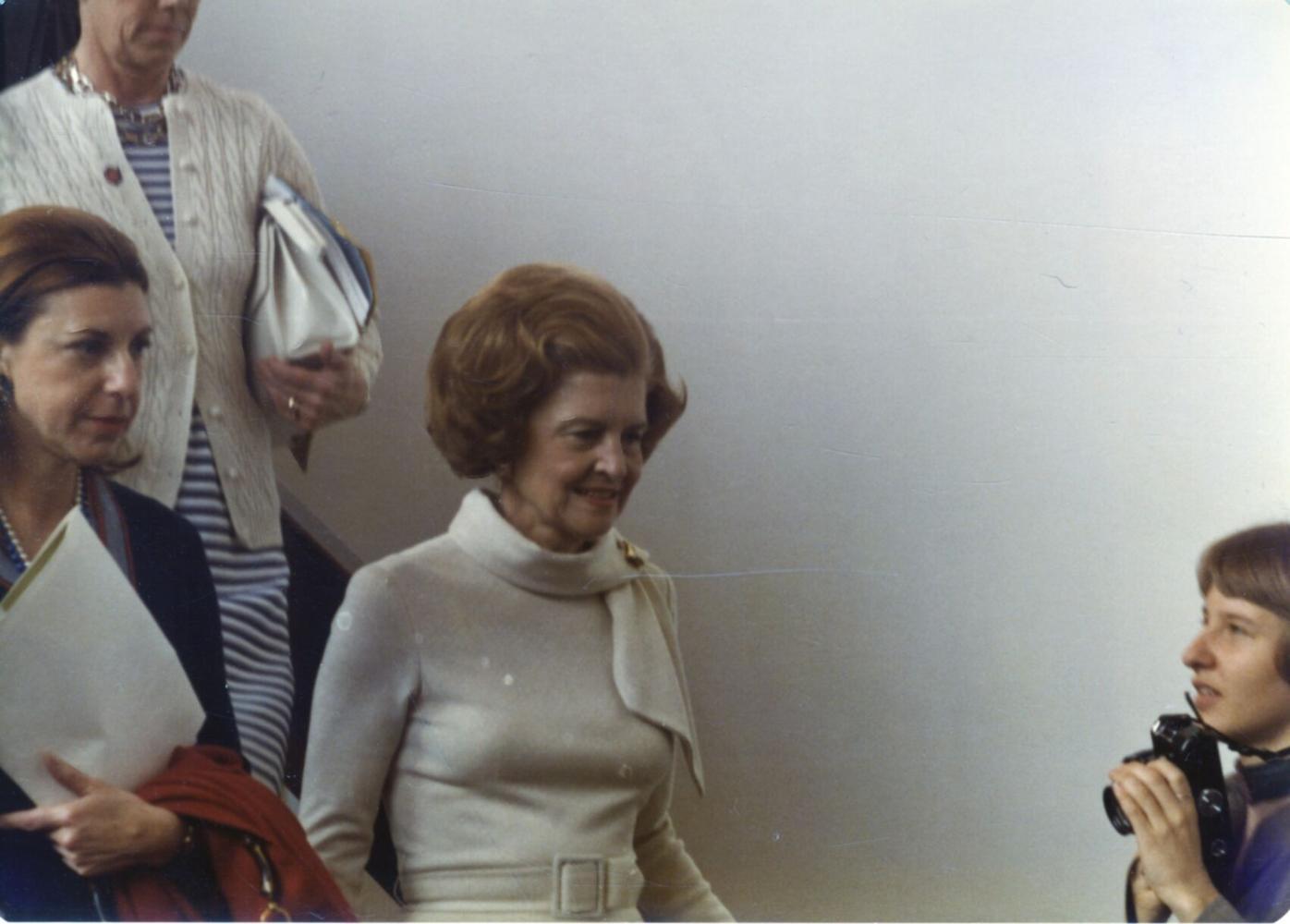 Helen Frankenthaler and Betty Ford