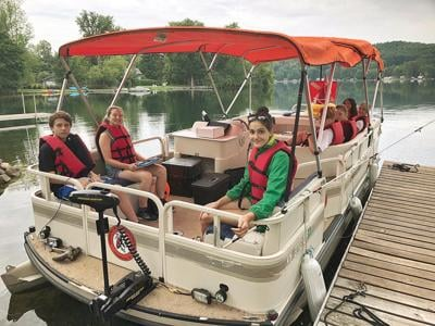 Cambridge Central School launches solar-powered floating classroom