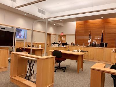 Bennington remote criminal court hearing - November 2020
