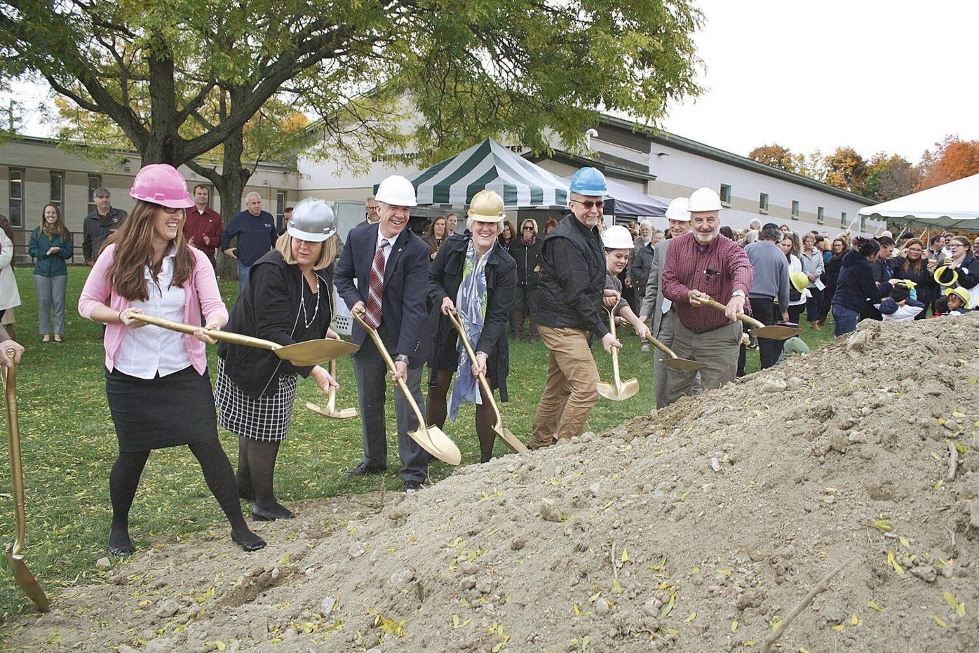 Gov. Scott helps break ground for early childhood center