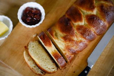 How to make a beautifully braided challah bread in time for Hanukkah