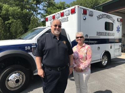 Northshire Rescue Squad ambulance