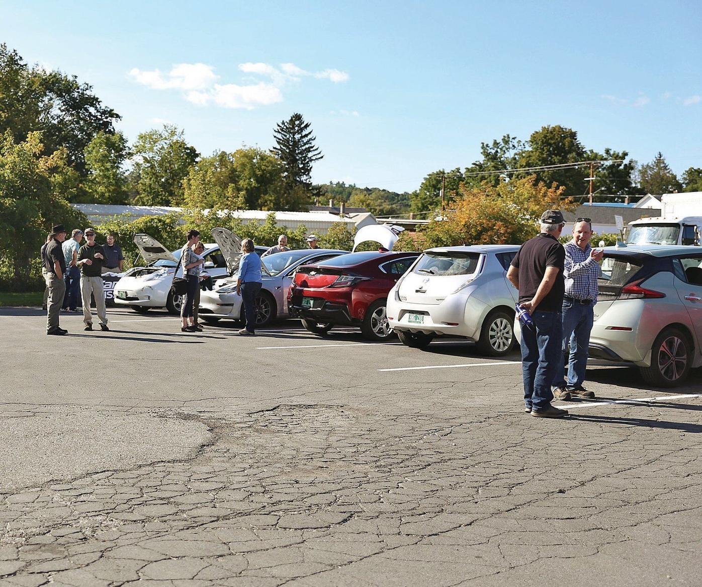 Bennington hosts electric vehicle expo