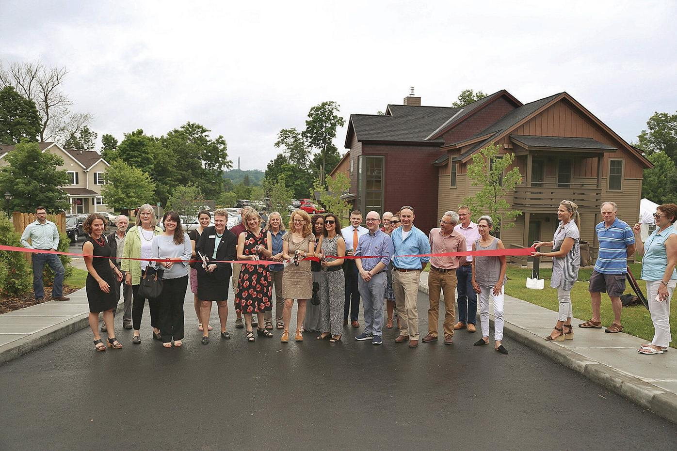 Monument View Apartments complete, community celebrates at ribbon-cutting