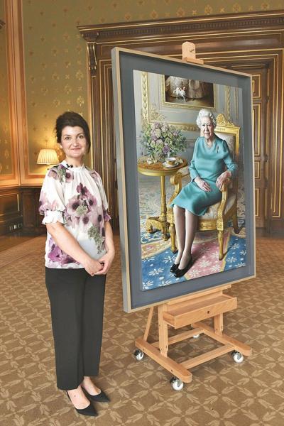 People; Queen Elizabeth II joins virtual portrait unveiling