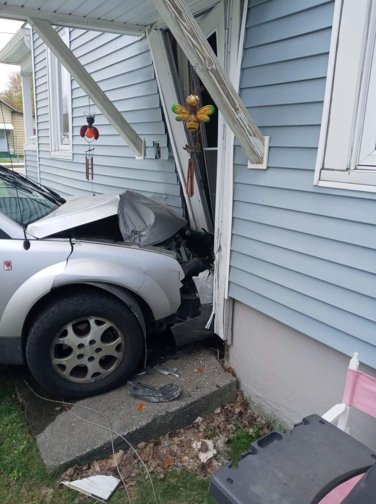 Bennington car-residence crash - 4/27/21