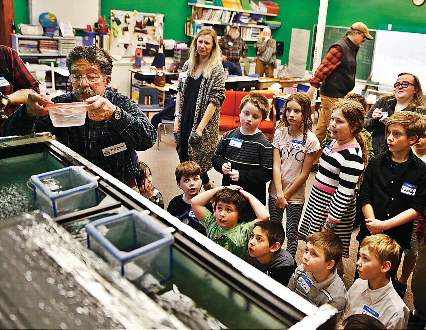 Third-graders to help raise fish from eggs