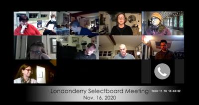 Londonderry Select Board, Nov. 16