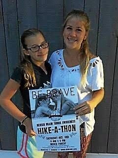 Two young women raise money for research of benign brain tumors