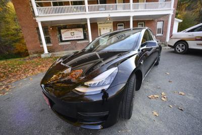 Windham County sheriff adds Tesla to fleet