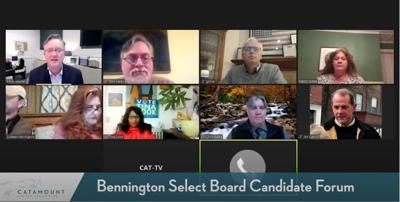 candidate forum bennington