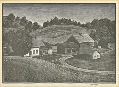 Vermont, engraved: The prints of Asa Cheffetz
