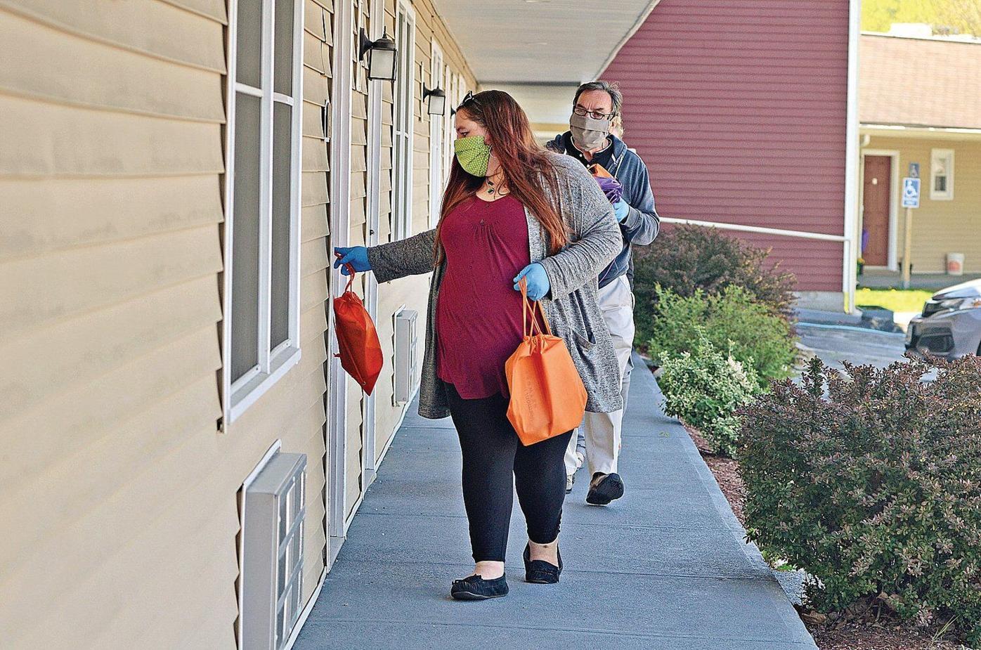 Going door-to-door to save lives