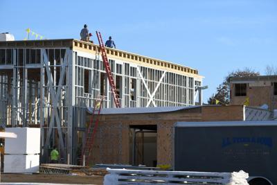 Bennington Recreation Center Construction