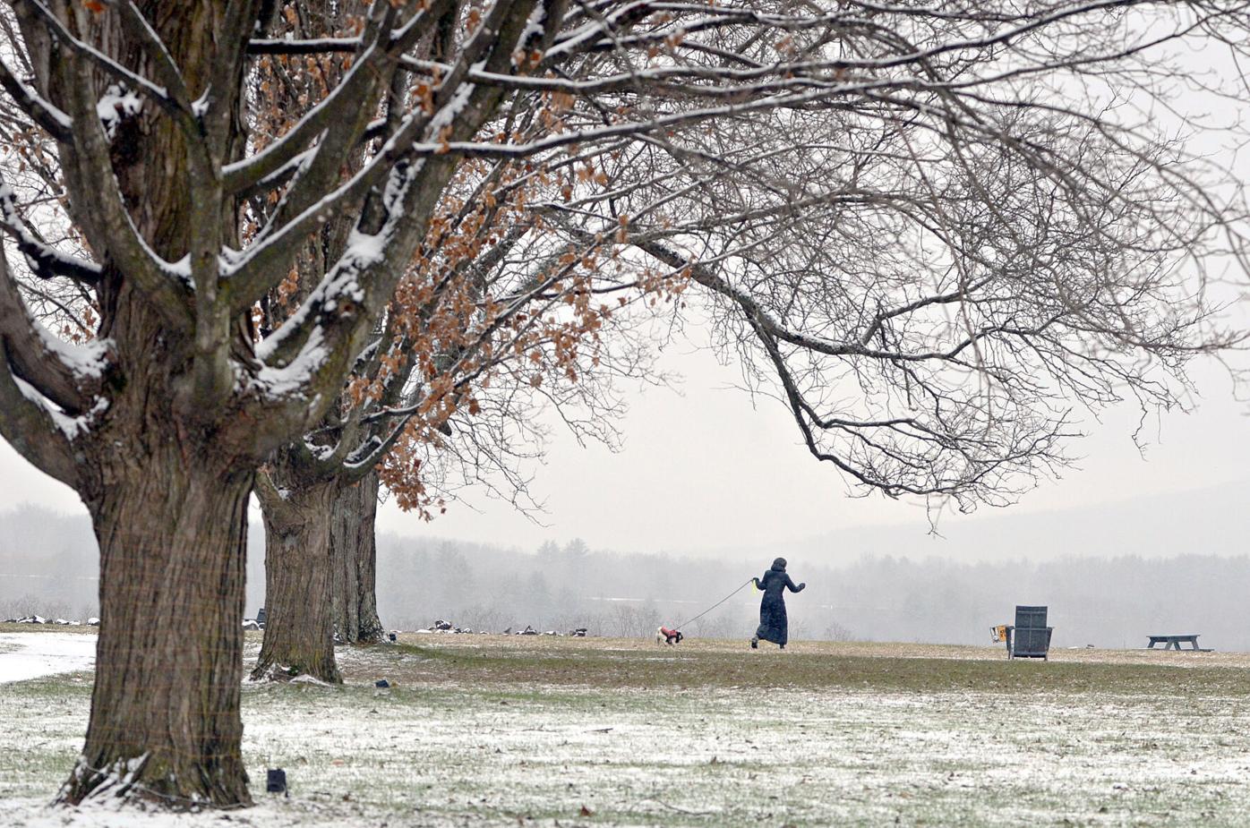 Snow at Bennington College